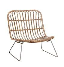 Lounge chair kurvstol