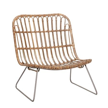 Lounge chair kurvestol