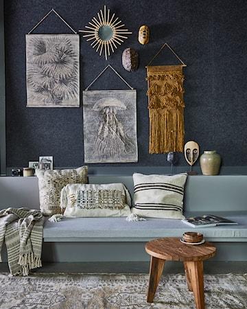 Vintage Wall Chart Palmblad