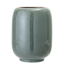Vase Stoneware Green Ø14x18cm