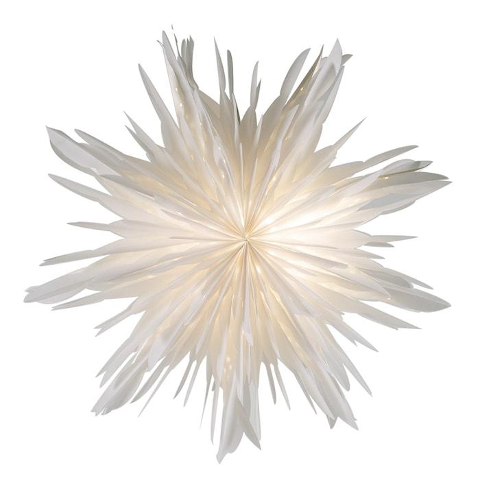 Reykjavik Julstjärnor Vit 60 cm