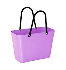 Väska Liten Green Plastic Lila