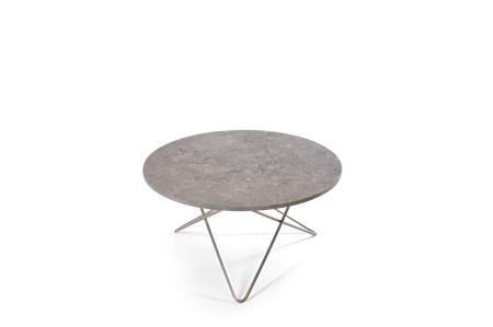 Köp Big O Matbord SvartGrön Marmor Ø120 | KitchenTime