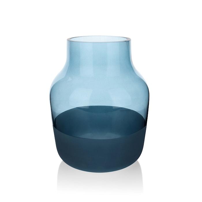 Mellem Vase 19 cm - Blå