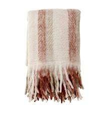 Filt Mohair - Rose Stripes