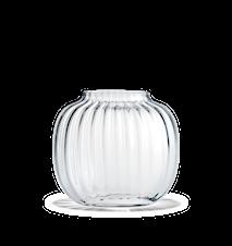 Primula Oval Vase Klar H 17,5 cm