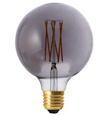Elect LED Filament Globe Smoke 125mm
