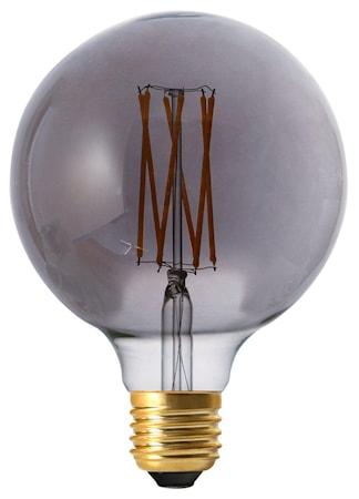 Elect LED Filament Globe Smoke 125 mm