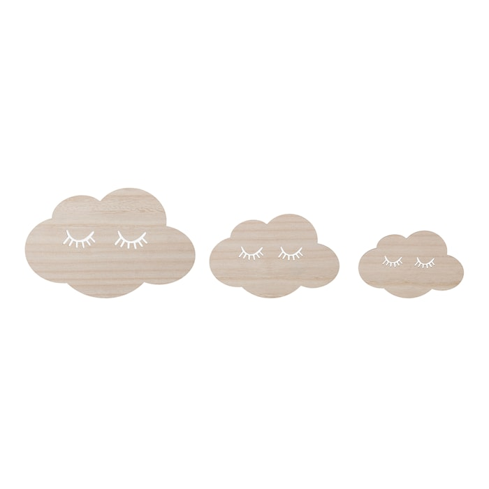 Väggdekoration Cloud 3 st