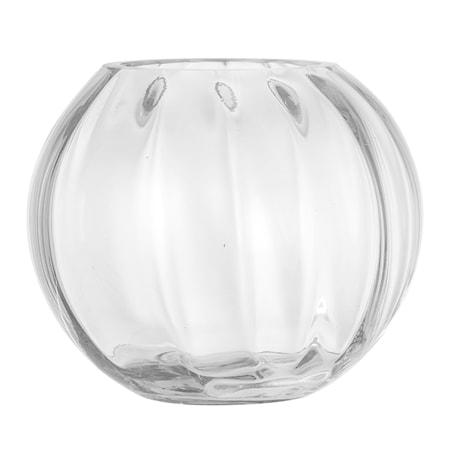 Vas Rund Glas Klar Ø18x15cm thumbnail