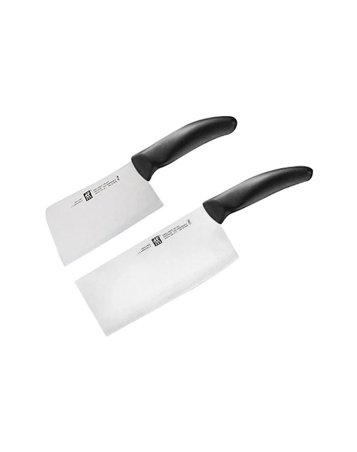 Style Knivset Köttyxa 15 cm & Kinesisk kockkniv/yxa 18 cm.