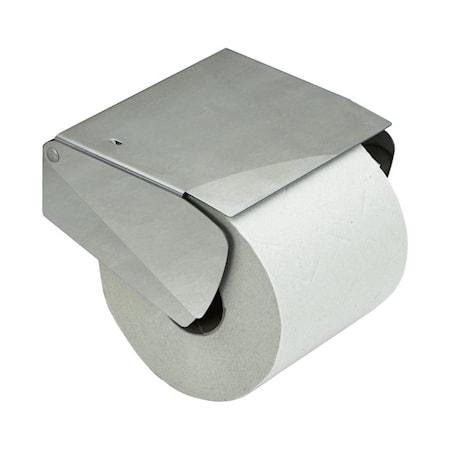 Solid Toalettpapirholder m.lokk rustfritt