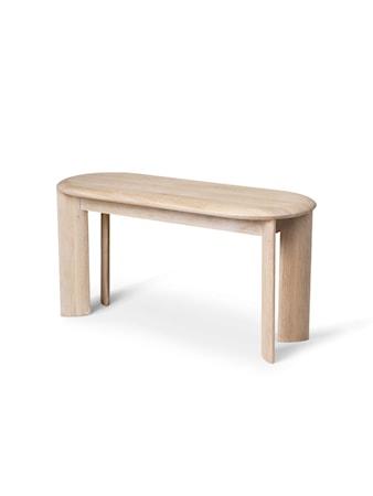 Bevel Bench - White Oiled Oak