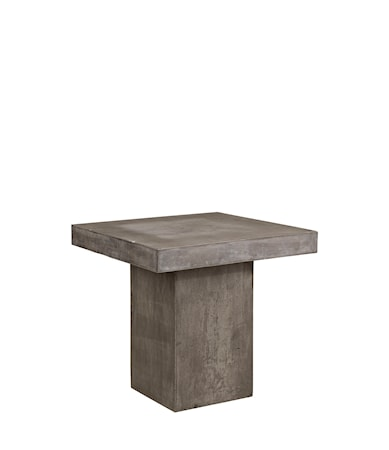 CAMPOS Square dining table 80xd80xh76 cm