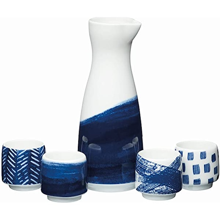 KitchenCraft World of Flavours Oriental Sake Set, 400 ml