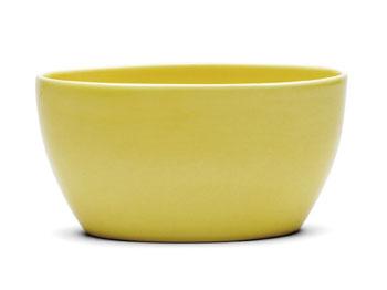 Ursula Oval Skål Ø0 cm gul (13105)