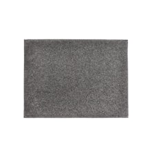 Table Mat Felt Dark Grey 40 x 30 cm