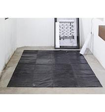 Leather Off Svart Matta 160x240 cm