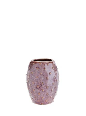 Vase Ø 8,5 cm - Aubergine