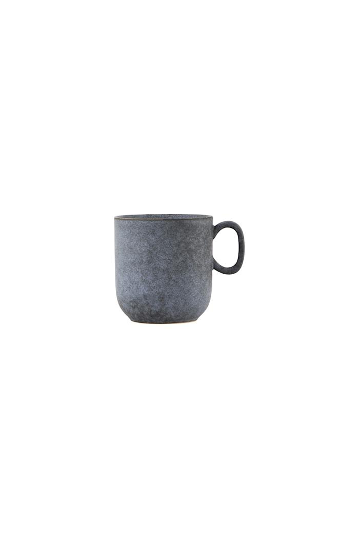 Mugg Stone Ø 9x9,5 cm Grå