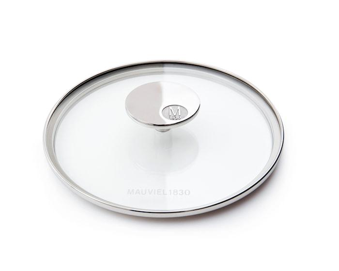 M'360 Glasslokk Ø24cm glass/stål