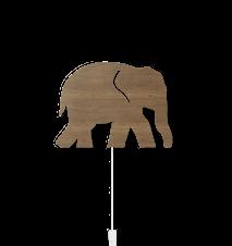 Elephant Vägglampa Smoked Oak