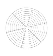 Leivontaritilä Ø 32 cm teräs