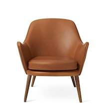 Dwell Lounge Chair Camel Silk