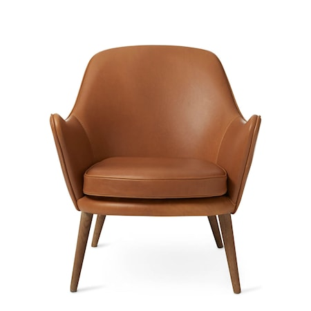 Dwell Lounge Chair Camel Silk
