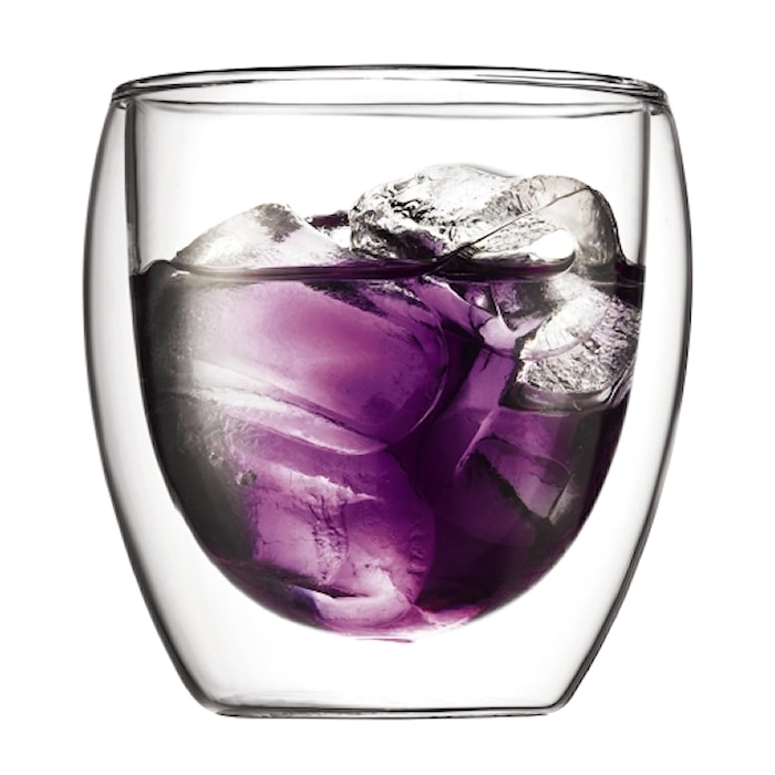 Pavina Dobbeltvegget glass 25 cl 6 stk