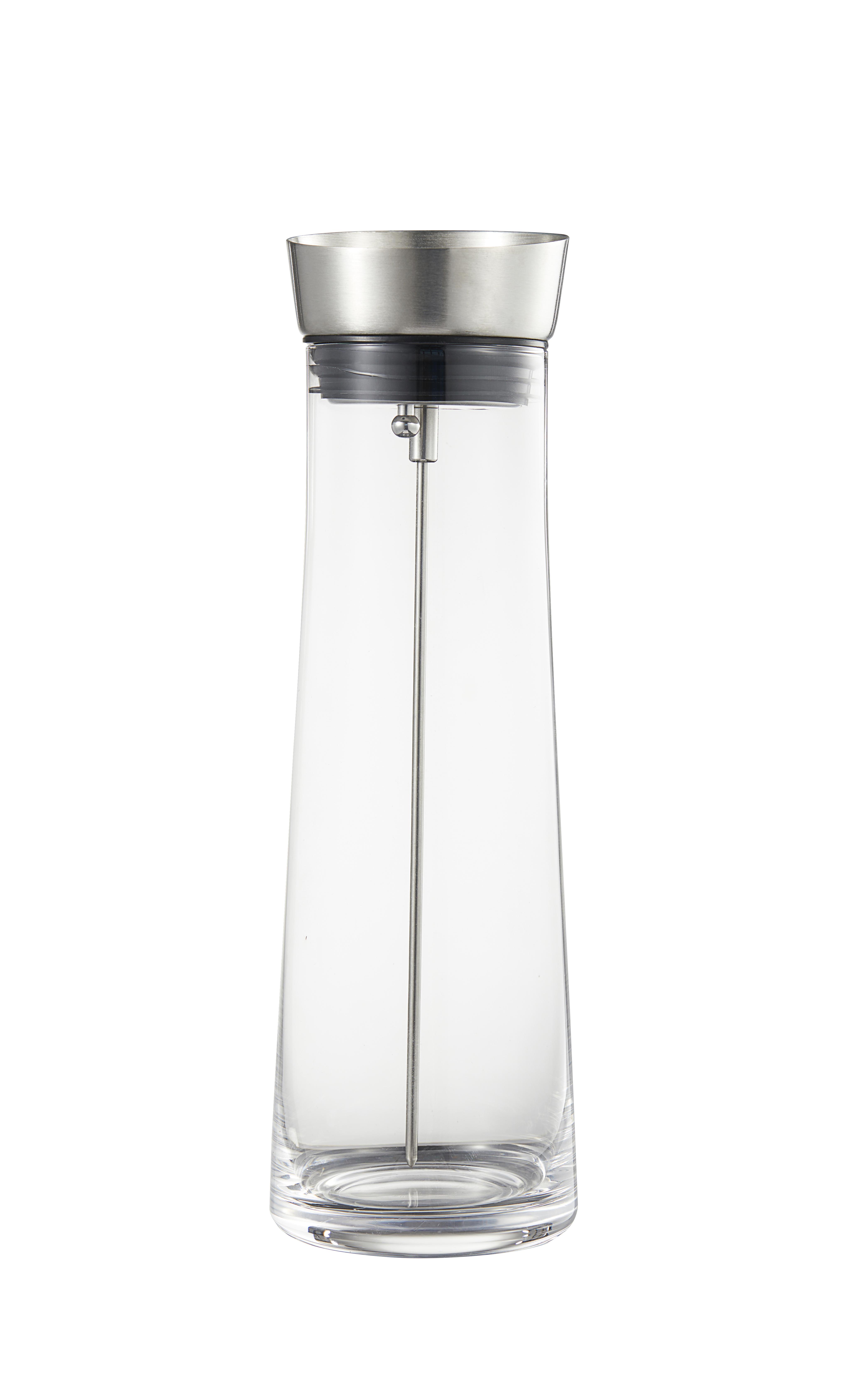 Kait Karaff glas lock rostfritt stål silikon 09l höjd 28 dia 94cm