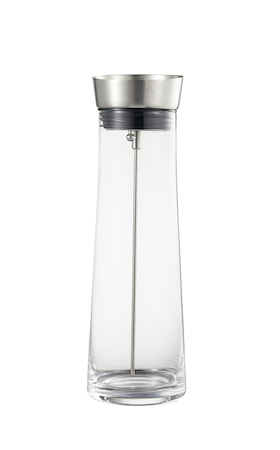 Kait Karaff glas lock rostfritt stål silikon 0,9l höjd 28 dia 9,4cm