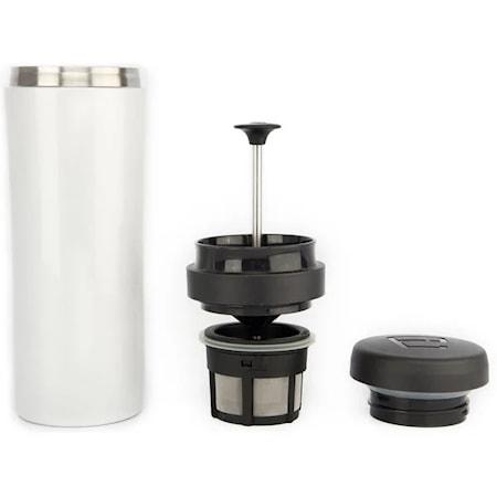 Espro travel Pressomuki Valkoinen, termos, kahvi