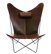 KS Chair Flaggermuslenestolen - Black/mocca