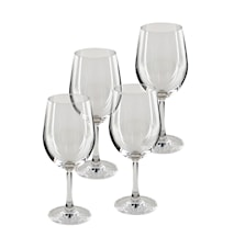 Pure & Simple Rödvinsglas 4-pack Klar
