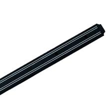 Magnetlist svart 55 cm
