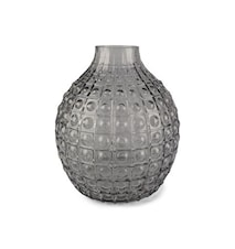 Form Living Vase Round Glass 24.5x15cm Grey