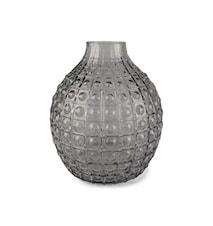 Vase Form Living rond verre 24,5 x 15 cm gris