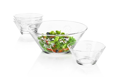 Glas Skål 25 cm