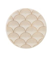 Aruba Trivet 10 cm Stentøj - Guld