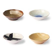 Kyoto Ceramics Japanese Skålar 4 st