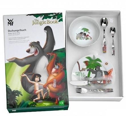 Viidakkokirja Lasten serviisi-setti 6 osaa