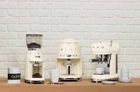 Retro Kaffekvarn Creme Vit