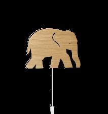 Elephant Vägglampa Oiled Oak