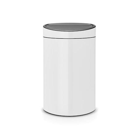 Touch Bin, muovinen sisäämpäri 40 L valkoinen
