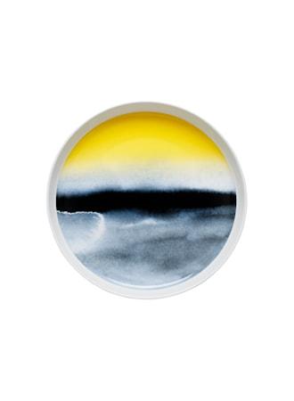 Oiva/Sääpäiväkirja Vati 32 cm Valkoinen/Sininen/Keltainen