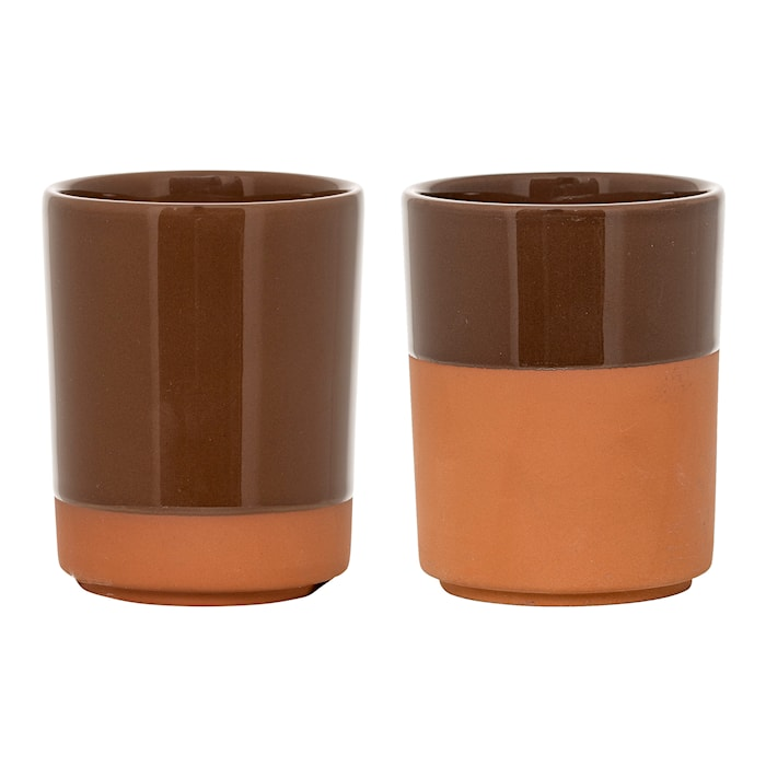 Kuppi Ruskea Terrakotta 7,5x9,5cm Lajittelematon Kappalettain