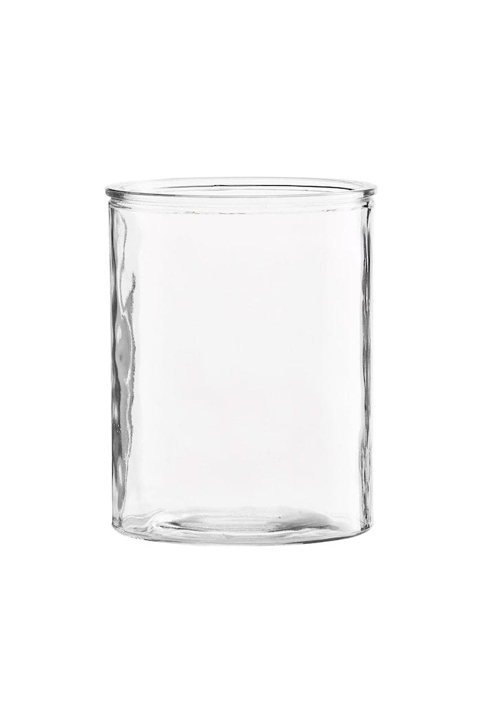 Vas Cylinder Ø 13x15cm Klar