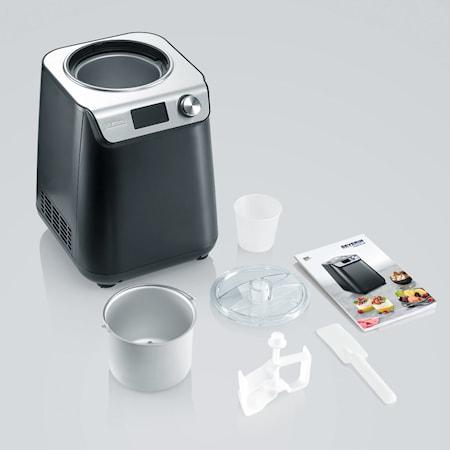 Glassmaskin med Kompressor 1,2L