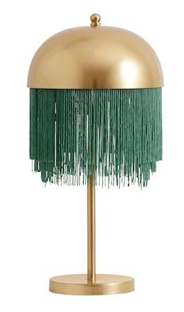 Bordslampa Fransar Ø 25x50 cm - Mässing